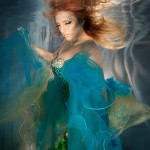 Underwater portraits with Margaret Hines
