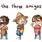 The three amigos…