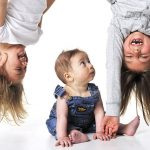 Flipping babies upside down and other ways to get great expressions…