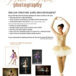 Will this dance school flyer bring in new business to my photo studio?